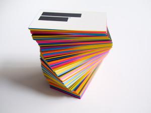 Выгодная печать визиток оптом